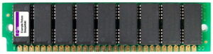4MB NEC 30-pin Simm Fast Page Mode Fpm Vintage RAM Parity 9 Chips 70ns 424100-70
