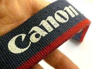 Canon EOS Camera Neck Shoulder Strap for Canon Rebel BLUE-RED-WHITE Genuine OEM