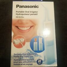 NEW Panasonic EW-DJ10A Portable Dental Water Flosser Battery Operated Irrigator