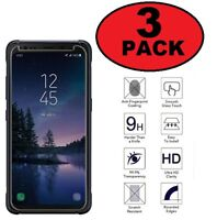 (3 Pack) Premium Tempered Glass Screen Protector For Samsung Galaxy S8 Active