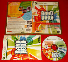BAND HERO XBOX 360 Versione Ufficiale Italiana 1ª Edizione ○ COMPLETO - FG