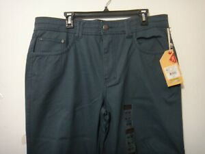 Browning Men Graham Pants Heritage Fit Hunting Color Midnight Navy Size 36 x 30