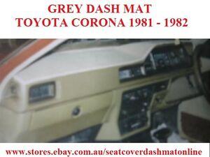 DASH MAT, DASHMAT, DASHBOARD COVER FIT TOYOTA CORONA 1981-1982, GREY