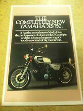 Vintage Yamaha 1977 Xs750 Motorcycle Poster Home Decor Man Art Christmas Present