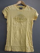 Pro Circuit femmes Adulte casual motocross t-shirt jaune petite taille CL0006