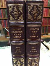Audubon: Birds and Quadrupeds of North America: Volair: Franklin Library: 2 Vols