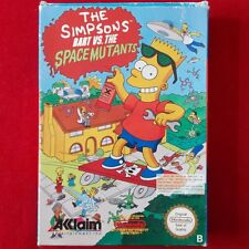 Nintendo NES ► The Simpsons Bart vs. the Space Mutants ◄ Modul & OVP | TOP