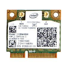 Wireless-N Intel Centrino 1000 802.11 b/g/n 112BNHMW Half Mini PCI-E Wifi Card