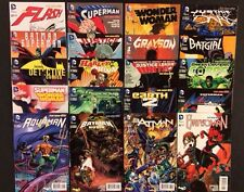 DC New 52 Comic Books Batman 75th Anniversary Variant Cover Set 20 Comics