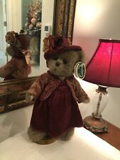 Bearington Collection Renee #1505 2004 10� Plush Bear Fall Rust Outfit �Nwt�
