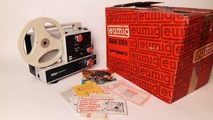 Eumig Mark 610 D Vintage Reg 8mm & Super 8 Film Projector