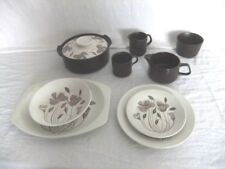 Brown Ironstone J&G Meakin Pottery