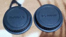 2x Rear Lens Cap Camera Cover for Canon EOS EFS EF EF-S Mount EF lens DSLR SLR