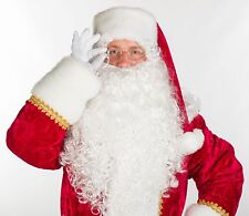 PROFESSIONAL THEATRICAL top-quality Santa Claus costume suit full 9pc M L XL XXL