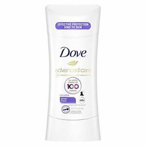 Dove Invisible Stick Antiperspirant Deodorant Sheer Fresh 2.6oz
