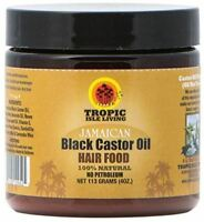 Tropic Isle Living- Jamaican Black Castor Oil Hair Food, 4oz