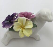 Staffordshire England Crown Fine Bone China Flower Bouquet Sea Lion