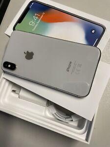IPhone X 64gb Silver Funzionante - Schermo Da Sostituire E Microfono Audio