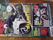 8ùµ? Revue Moto Journal n°1459 D.Vuillemin Yamaha 1300 XJR Aprilia 1000 RST