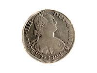 Moneda 8 Reales, Carlos IV, 1804