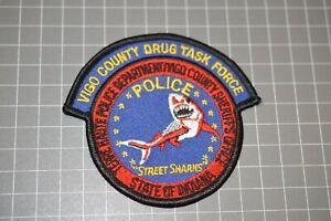 Vigo County Indiana Drug Task Force Patch (B17-A11)