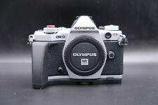 Olympus OM-D E-M5 Mark II 16.1MP Digital Camera - Silver (Body Only)