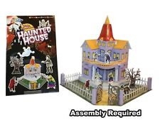 Build Your Own 3D Model - Haunted House - Book Based Paper Model Kit - New