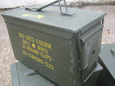 Army Surplus 50 Cal. Ammo Box