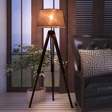 Homcom Stehlampe Tripod höhenverstellbar Standleuchte Stehleuchte Bodenlampe