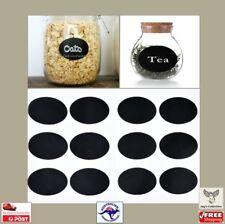 12Pcs Blackboard Chalkboard Stickers Kitchen Jars Organizer Labels [A7H~A1]