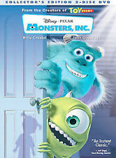 MONSTERS INC - DISNEY DVD   *** NEW  / SEALED DVD - IN STOCK ***