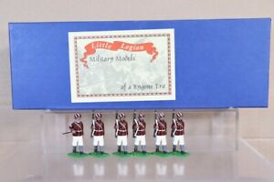 TROPHY MINIATURES INDIAN MUTINY SIKH INFANTRY MARCHING BOXED SET 8 pjm
