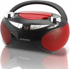 New Bluetooth Magnavox Cd Player Stereo Boombox Am/Fm Radio Aux-In Lcd Ac/Dc