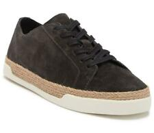 New in Box- $225 Vince. Jadon Low Top Graphite Suede Espadrille Sneaker Size 8