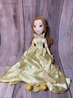 """Disney Store Belle Beauty And The Beast 20"""" Plush Toy Princess Soft Doll Repair"""