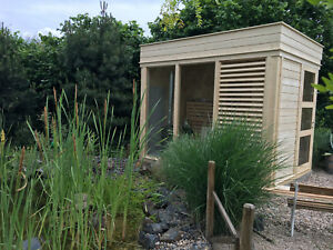Sauna Cube, Gartensauna