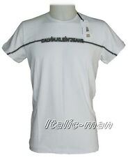 T-shirt m/c CALVIN KLEIN - mod. CMP22T - tg. XL - bianco