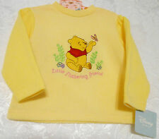 New Unique Embroidered Winnie The Pooh  Disney Baby Top Size 24 Mos