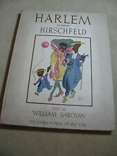 HARLEM AS SEEN BY HIRSCHFELD 16 PRINTS 1941 LIMITED EDITION 449/1000