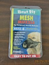 Mesh Muzzle ~Size 4 - For Medium Breeds~ For Temporary Muzzle Restraint!