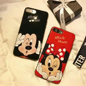 MICKEY and MINNIE (RED Case) for iPhone 5g 5s SE
