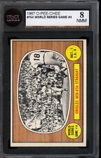 1967 TOPPS OPC O PEE CHEE #154 Baltimore Orioles WIN 4TH Straight KSA 8 NM-MINT