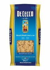 5x Pasta De Cecco 100% Italienisch Mezzi Ditali Liscia n. 158  Nudeln 500g