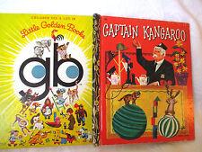 Little Golden Book CAPTAIN KANGAROO Kathleen N Daly c1974 HC Golden Press Sydney