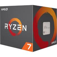AMD Ryzen 7 2700, 3.2 GHz, AM4, Processor threads 16, Packing Retail, Cool...