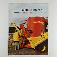 New Holland Grinder-Mixer Dealer/'s Brochure