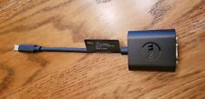 Dell Brand Mini DisplayPort to VGA Adapter for PC Black Never Used