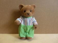 Simba Bärenwald Bär Papa Junge Mann grüne Hose buntes T-Shirt Pijama 11,5 cm 005