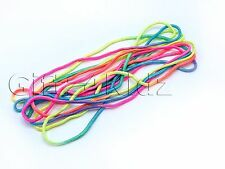 French Skipping Rope Coloured Elastic Playground Game String Children Jump Girls