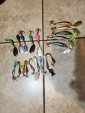 lot of 19 blue fox spinner fishing lures